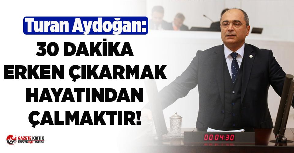 CHP'li Aydoğan YKS'deki 30 dakika skandalı Meclis gündemine taşıdı!