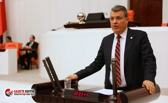 """CHP'li Barut: Kıdem tazminatını bırak, köle gibi çalıştırılan emekçilerin hakkını ver!"""""""