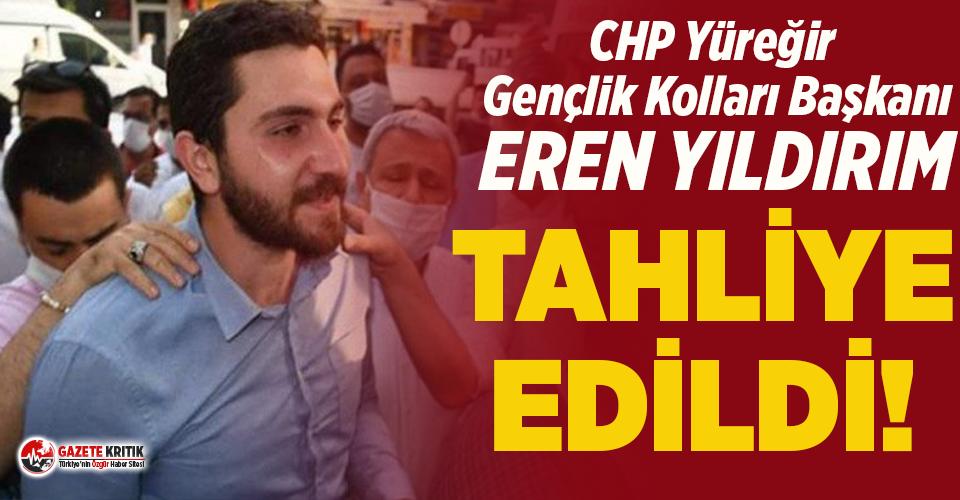 CHP'li Eren Yıldırım tahliye edildi