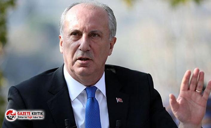 CHP'li İnce'den hükümete: İpe sapa gelmez işlerle uğraşmayı bırakın, önlem alın