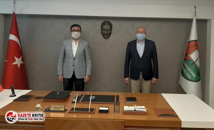 CHP'li Vekil Çakırözer'den Eskişehir Barosu'na destek ziyareti!