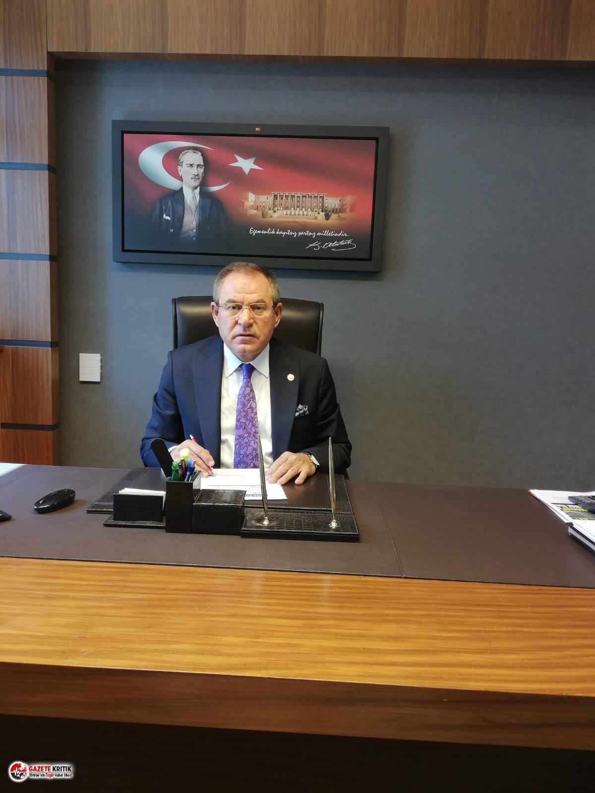 CHP'li Zeybek: Ülkede ekonominin dibe vurmasının sebebi tek adam hukukunun geçerli olmasıdır