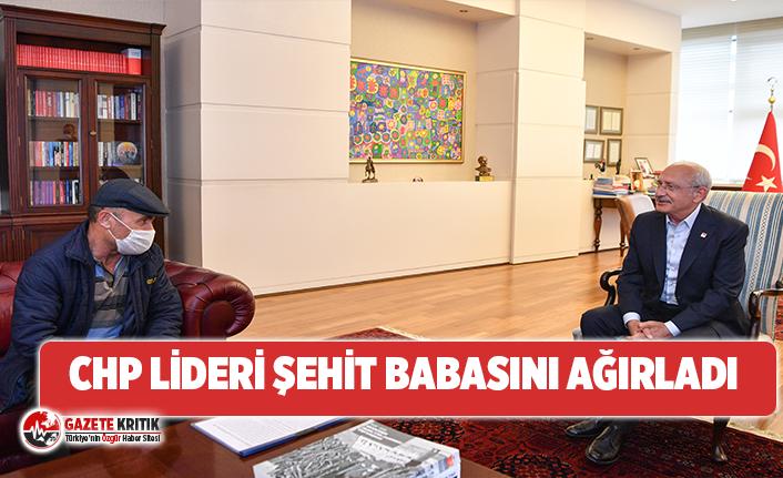 CHP Lideri Şehit Babası Mustafa Kırıkçı'yı ağırladı