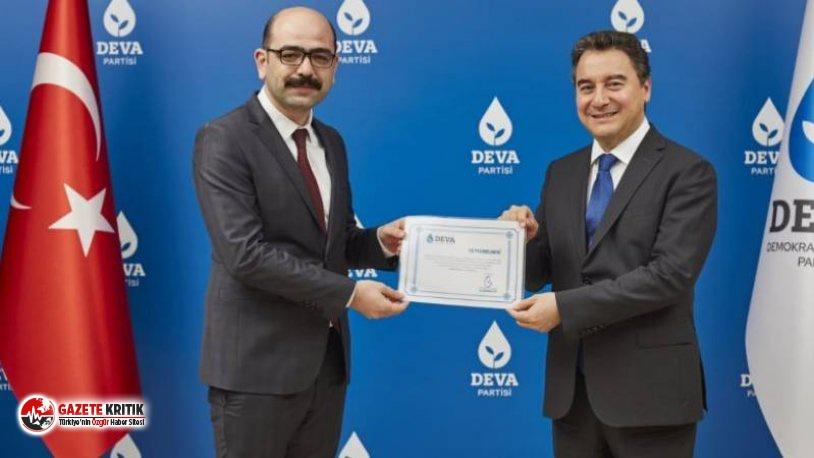 DEVA Partisi Diyarbakır Kurucu İl Başkanı belli oldu
