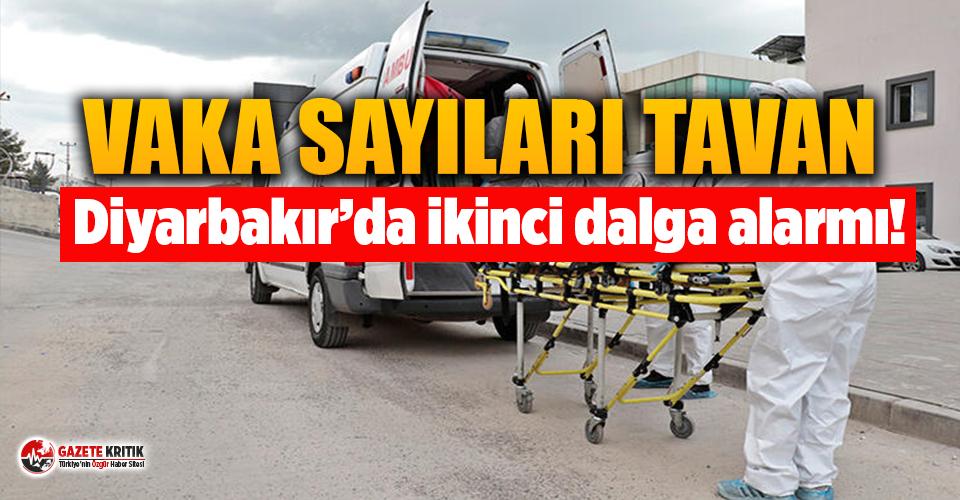 Diyarbakır'da ikinci dalga alarmı: 10 günde 350 kişi hastaneye kaldırıldı