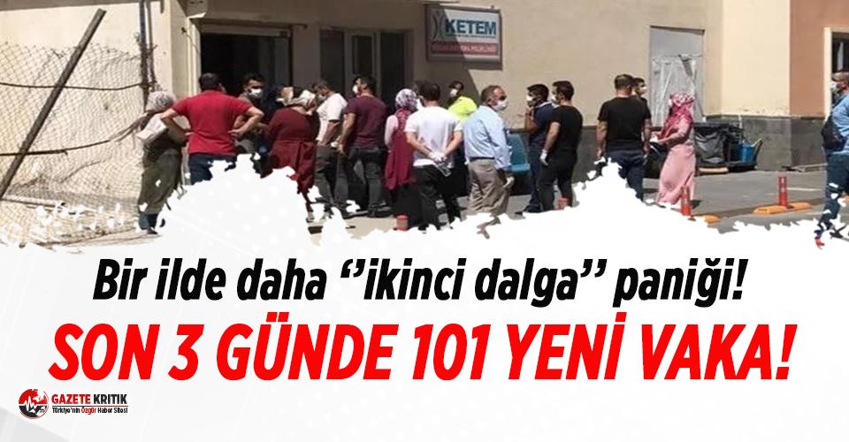 Diyarbakır'dan sonra bir ilde daha ikinci dalga paniği!