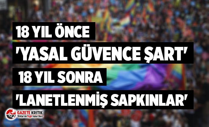 Erdoğan, Erdoğan'a karşı: 18 yıl önce 'yasal güvence şart', 18 yıl sonra 'lanetlenmiş sapkınlar'