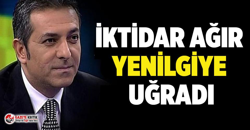 Erdoğan'ın eski danışmanı: İktidar ağır yenilgiye uğradı