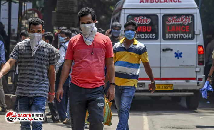 Hindistan'da günlük koronavirüs vaka sayısı 10 bine yaklaştı