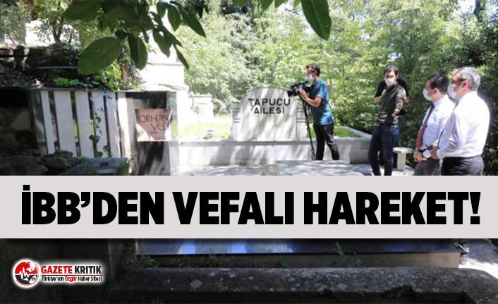 İBB, Orhan Veli'nin mezarını yenileyecek