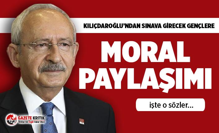 Kemal Kılıçdaroğlu'ndan LGS'ye girecek öğrencilere mesaj!