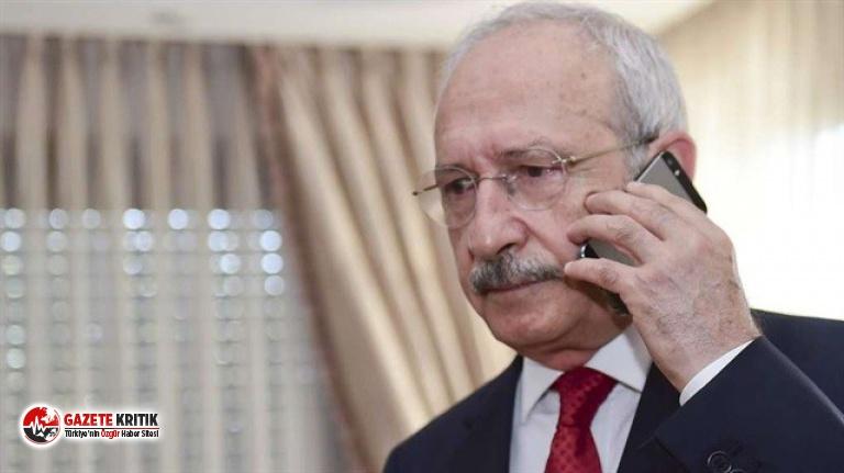 Kılıçdaroğlu'ndan şehit ailelerine başsağlığı telefonu