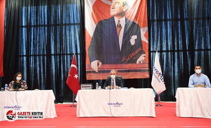 Konyaaltı'nın faaliyet raporu, oy birliği ile kabul edildi