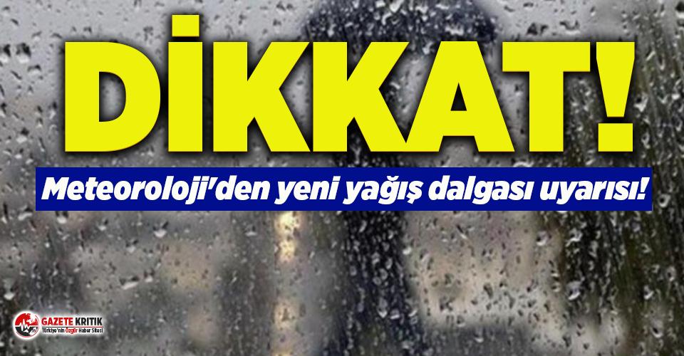 Meteoroloji'den yeni yağış dalgası uyarısı! İşte bu haftanın hava durumu