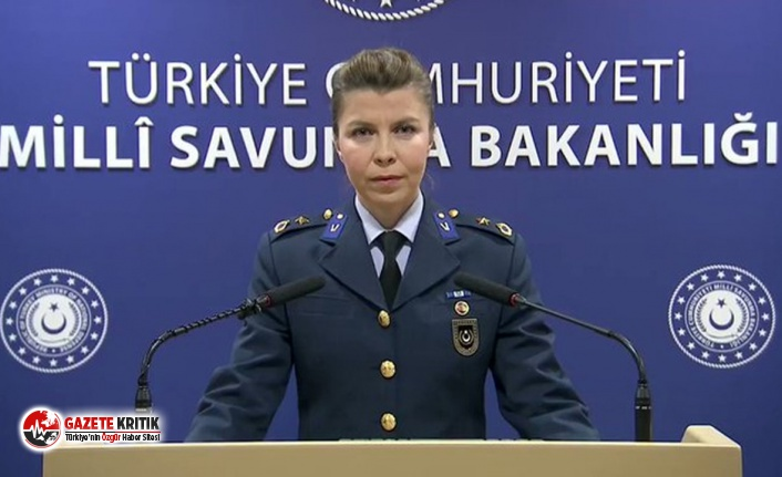 Milli Savunma Bakanlığı'na ikinci kadın sözcü