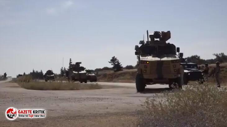 MSB: 17'nci Türk-Rus devriyesinde patlayıcı infilak etti, devriye aracı hasar gördü