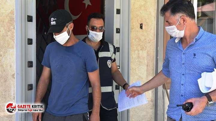 Polis tövbe ettiği için para yardımında bulunmuştu: Yine yakalandı