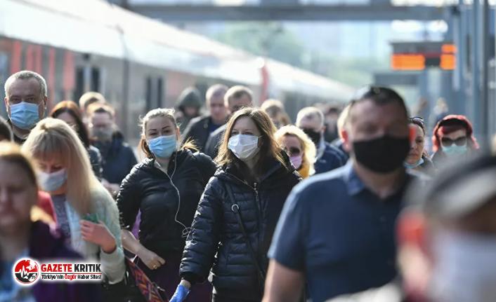 Rusya'da 8536 yeni koronavirüs vakası