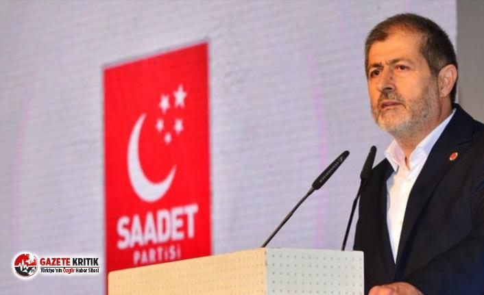 Saadet Partisi İstanbul İl Başkanı: Abdestimizi aldık bekliyoruz, ilk namazı da Erdoğan kıldırsın