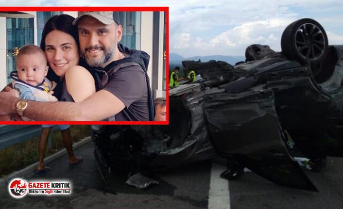 Şarkıcı Alişan Manisa'da kaza yaptı!