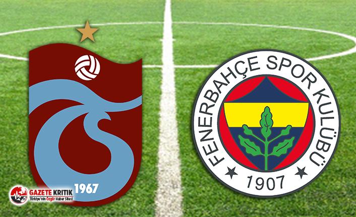 Trabzonspor, Fenerbahçe'yi evinde mağlup etti!