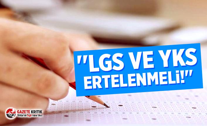 TTB: ''LGS ve YKS ertelenmeli!''