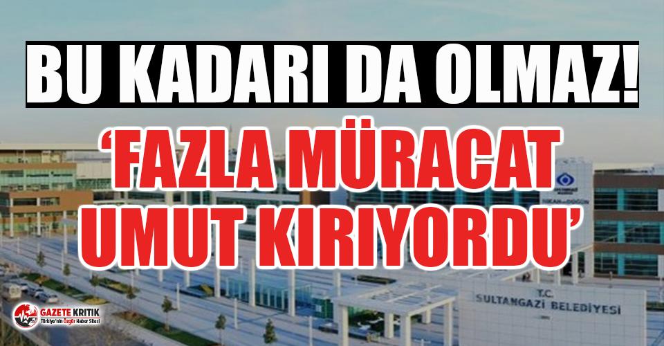 AKP'li belediye milyonlarca işsiz ile dalga geçti!