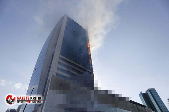 Ankara Büyükşehir'den iş merkezinde çıkan yangına ilişkin açıklama!