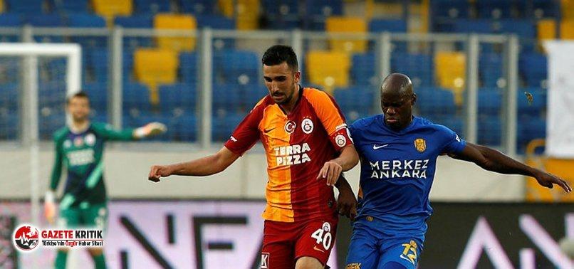 Ankaragücü Galatasaray'ı devirdi!