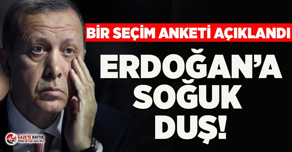 Bir seçim anketi daha açıklandı: Erdoğan'a soğuk duş!