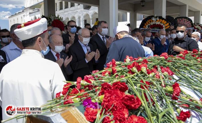 CHP Genel Başkanı Kemal Kılıçdaroğlu, Doğan Taşdelen'in cenaze törenine katıldı