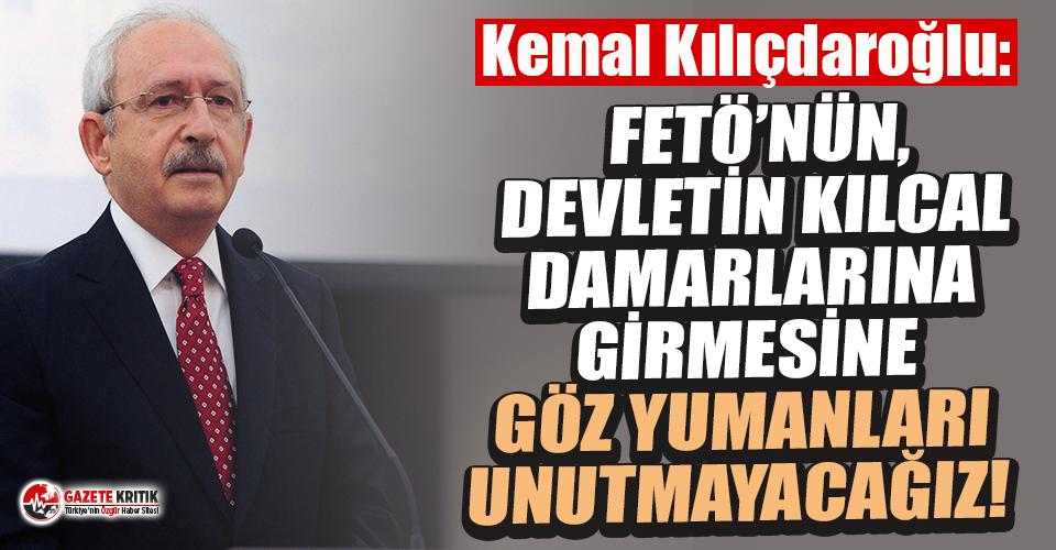 CHP Genel Başkanı Kılıçdaroğlu'ndan 15 Temmuz mesajı!