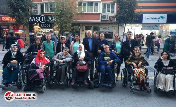 """CHP'li Çakırözer: """"Engellilerin ücretsiz hakkını ellinden almak büyük insafsızlık"""""""