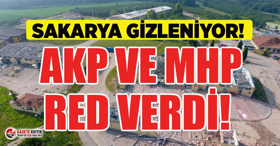 CHP'nin araştırılsın dediği patlama için AKP ve MHP red oyu verdi