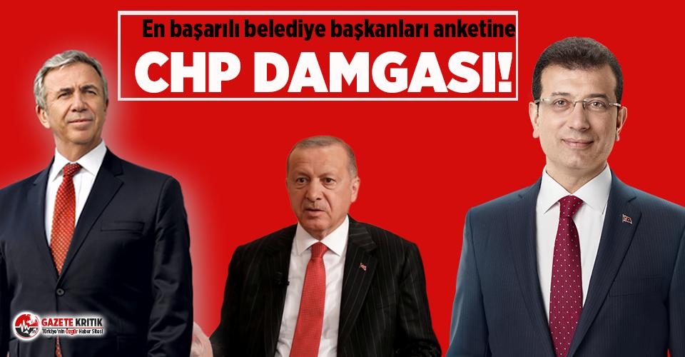 En başarılı belediye başkanları anketine CHP damga vurdu!