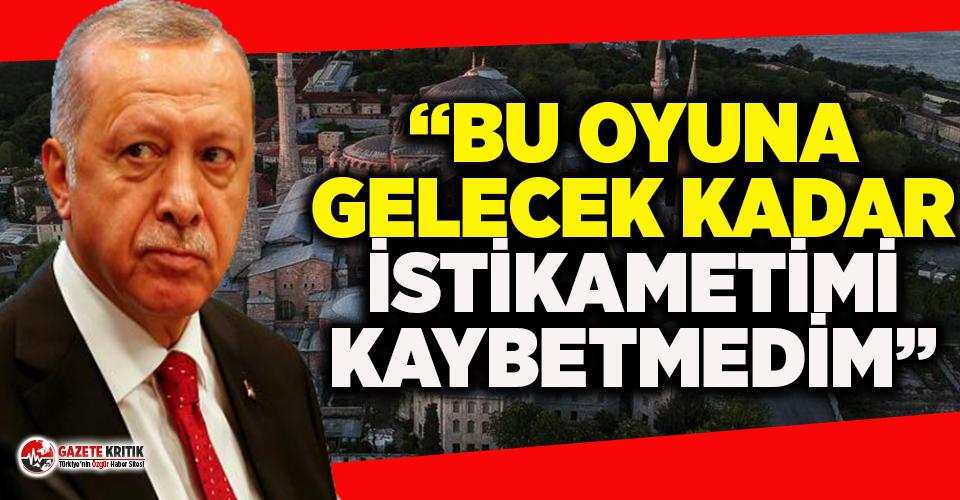 Erdoğan'ın 31 Mart seçimleri öncesindeki 'Ayasofya' yorumu gündem oldu!