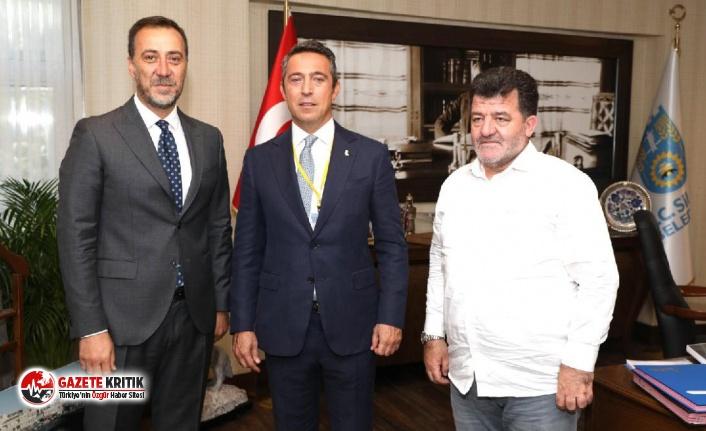 Fenerbahçe Başkanı Ali Koç, Silivri Belediyesi'ni ziyaret etti