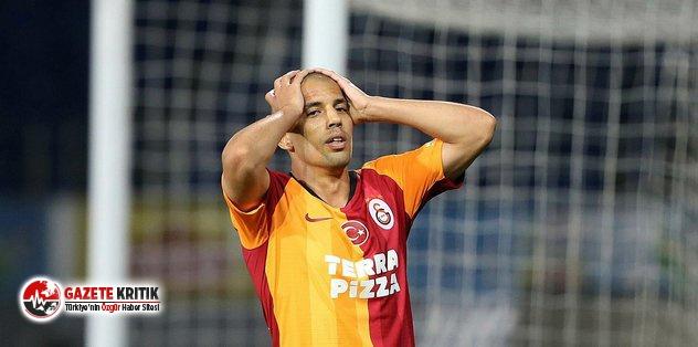 Galatasaraylı futbolcu Feghouli, PFDK'ya sevk edildi