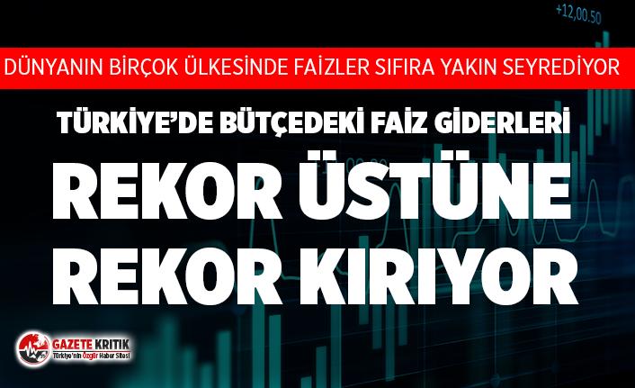 Hazine Müsteşar Yardımcısı Emil açıkladı: Türkiye'de bütçedeki faiz giderleri rekor üstüne rekor kırıyor!