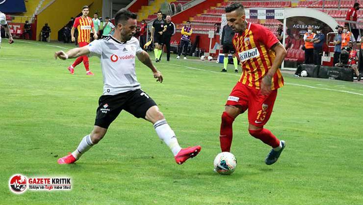 Hes Kablo Kayserispor Beşiktaş'ı 3-1 mağlup etti: İşte maç özeti
