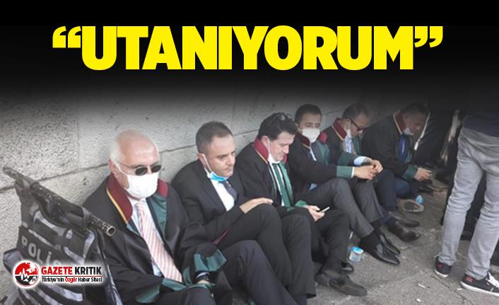 İstanbul Barosu Başkanı: Bu fotoğrafı kimseye göstermeyelim, utanıyorum