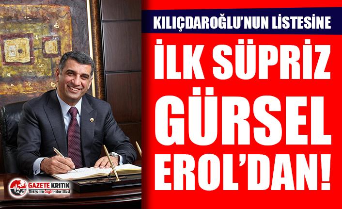 Kılıçdaroğlu'na Gürsel Erol süprizi!