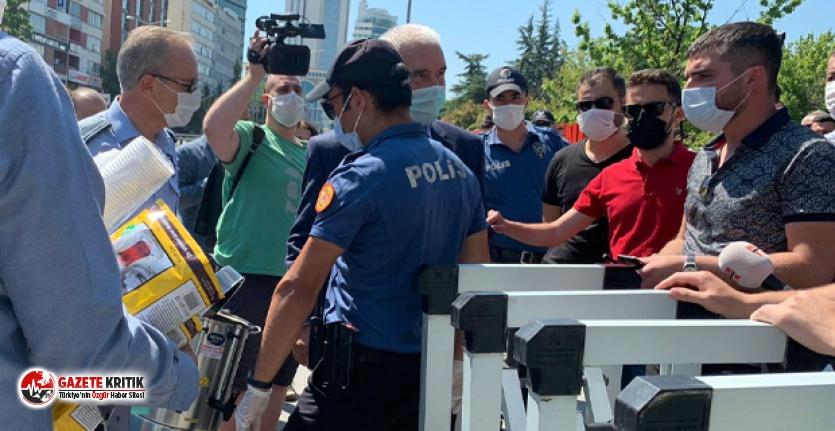 Mansur Yavaş'ın avukatlara gönderdiği çaylar engellendi