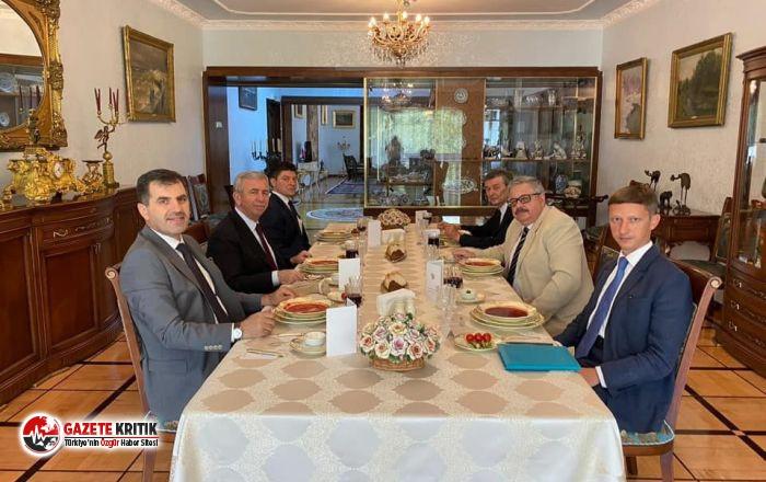 Mansur Yavaş, Rusya'nın Ankara Büyükelçiliği'ni ziyaret etti