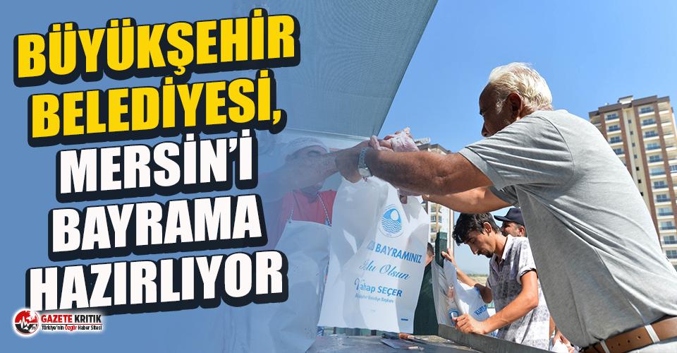 Mersin, Büyükşehir ile Kurban Bayramı'na hazır
