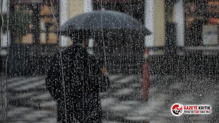 Meteoroloji'den 6 il için gök gürültülü sağanak yağış uyarısı