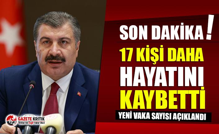Sağlık Bakanı Koca Türkiye'nin son koronavirüs tablosunu paylaştı