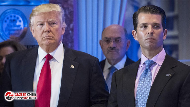 Trump'ın oğluna Twitter şoku!
