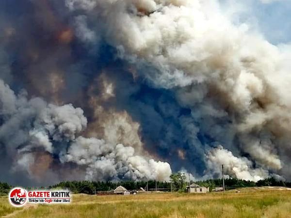 Ukrayna'da orman yangını! 6 ölü, 9 yaralı