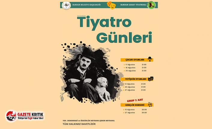 Burdur'da Tiyatro Günleri yarın başlıyor!